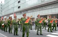 Vietnam participa en concierto mundial de la policía en Japón