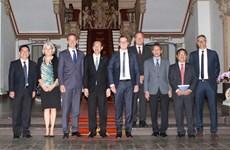 Canciller de Dinamarca visita Ciudad Ho Chi Minh para impulsar cooperación económica