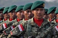 Presupuesto de defensa de Indonesia inferior a la solicitud de gobierno