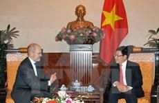 Vicepremier de Vietnam recibe al presidente del Consejo de Negocios de EE.UU.