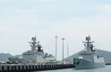 Buques de armada de China visitan puerto internacional Cam Ranh
