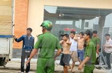 Drogadictos fugitivos retornan al centro de rehabilitación en Dong Nai