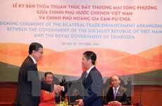 Vietnam y Camboya firman acuerdo comercial al margen de cumbres regionales
