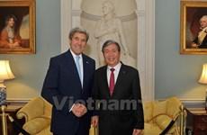 Actividades de dirigente de Partido Comunista de Vietnam en EE.UU.