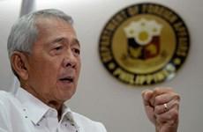 Canciller filipino descarta posibilidad de romper acuerdos militares con EE.UU.