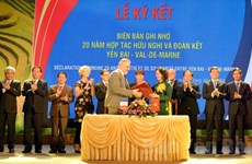 Localidades vietnamita y francesa fortalecen cooperación