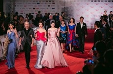 Artistas famosos en Festival Internacional de Cine de Hanoi