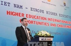 Celebran en Vietnam foro sobre educación universitaria europea