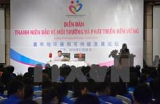 Jóvenes vietnamitas y chinos juntan manos por medioambiente