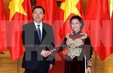 Fortalecen nexos legislativos entre Vietnam y China