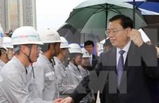 Presidente de Parlamento de China continúa visita a Vietnam