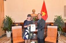 Vietnam reconoce a cónsul general de Bélgica en Hanoi
