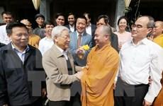 Secretario general del PCV asiste a fiesta de gran unidad nacional