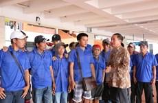 Indonesia repatría a 39 pescadores vietnamitas