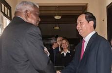 Presidente de Vietnam continúa actividades en Cuba