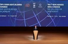 Vietnam participa en Congreso Mundial de Agencias de Noticias