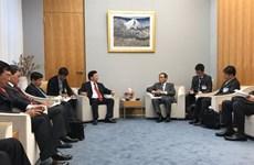Vietnam y Japón acuerdan intensificar la confianza política