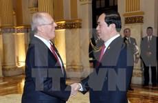 Presidentes de Vietnam y Perú discuten el fortalecimiento de lazos binacionales