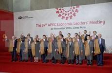 Líderes de APEC prometen a luchar contra proteccionismo