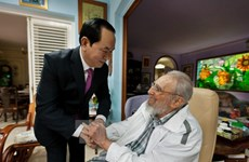 Fidel Castro: un amigo entrañable de Vietnam