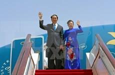 Presidente de Vietnam inicia visita estatal a China