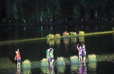 Escenifican en Vietnam obra inspirada en show de marionetas acuáticas