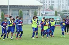 [Fotos] La selección femenina de fútbol de Vietnam busca coronarse en SEA Games 29