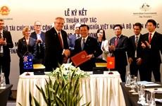Vietnam y Australia firman acuerdo de cooperación financiera