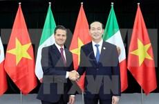 [Fotos] Presidente de Vietnam recibe a varios líderes participantes en la Cumbre del APEC