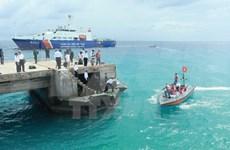 [Fotos] La policía marítima vietnamita cumple misión de protección de soberanía nacional
