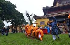 [Fotos] Rito milenario en ciudadela imperial de Hue marca comienzo del Tet