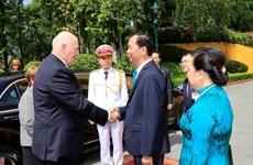 [Fotos] Gobernador General de Australia en Vietnam: Ceremonia oficial de bienvenida