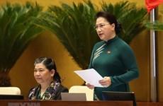 [Fotos] Asamblea Nacional de Vietnam inicia sesiones de interpelación a miembros del gobierno