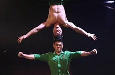 [Fotos] Acróbatas de Vietnam brillan en programa de talentos de televisión británica