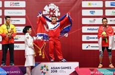 [Foto] ASIAD 2018: Vietnam consigue la primera medalla de plata