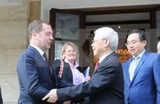 Actividades del secretario general del Partido Comunista de Vietnam, Nguyen Phu Trong, en Rusia