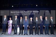 [Foto] Inauguran en Vietnam Foro Económico Mundial sobre la ASEAN