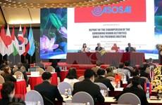 [Foto] Celebran en Hanoi reunión del Comité directivo de ASOSAI
