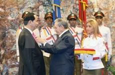[Fotos] Actividades destacadas del presidente de Vietnam