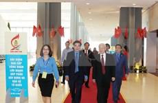 [Foto] Inauguran en Hanoi duodécimo Congreso Sindical de Vietnam