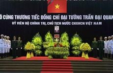 [Fotos] Vietnam rinde homenaje al presidente Tran Dai Quang