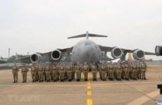 [Foto] Oficiales del hospital de campaña de Vietnam parten hacia Sudán del Sur para misión de paz