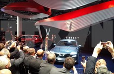 [Fotos] VinFast presenta sus primeros automóviles en Paris Motor Show
