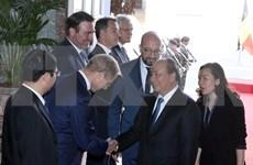 [Foto] Actividades del premier vietnamita en Bélgica
