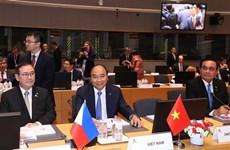 [Fotos] Primer ministro de Vietnam asiste a la XII Cumbre de ASEM