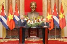 [Megastory] Relaciones con Vietnam poseen un carácter histórico y especial, afirmó presidente de Cuba
