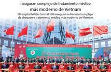 (Info) Inauguran complejo de tratamiento médico más moderno de Vietnam