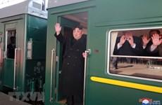 [Fotos] Parte presidente norcoreano en tren a Vietnam para segunda cumbre EE.UU.-RPDC