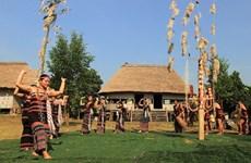 (Televisión) Transmiten valores culturales vietnamitas en la Aldea de Nacionalidades en Dong Mo