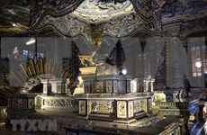 (Foto) Exploran la tumba del emperador Khai Dinh en Thua Thien-Hue